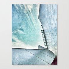 Walt Disney Concert Hall, Los Angeles Canvas Print