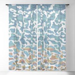 Gantheaume Shallows, Broome, Western Australia Sheer Curtain
