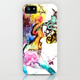 At these levels there is no danger of spinal cord injury iPhone Case
