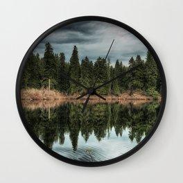 Across the Lake Wall Clock