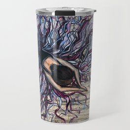 Stretching Ballerina Travel Mug