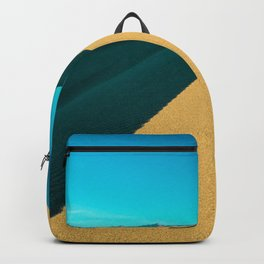 death valley line and flow Backpack