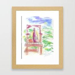 Painting - Gardening Framed Art Print