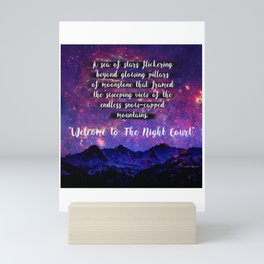 Welcome to The Night Court Mini Art Print