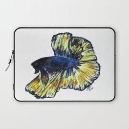 Art Doodle No. 34 Betta Fish Laptop Sleeve