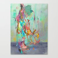 archan nair Canvas Prints featuring Soulipsism by Archan Nair