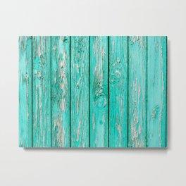 Wood 1 Metal Print