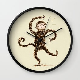 Silly Monkey! Wall Clock