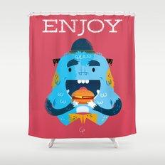 :::Enjoy Monster::: Shower Curtain
