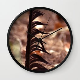 The feather / Die Feder Wall Clock