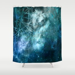 ε Aquarii Shower Curtain