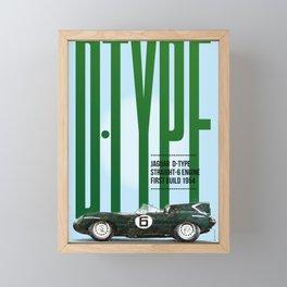 D-Type Tribute Framed Mini Art Print
