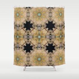 Fontana dei Quattro Fiumi inspiration Shower Curtain