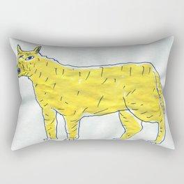 angry dog Rectangular Pillow