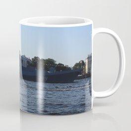"""The military ship """"Admiral Makarov"""" 799. The Neva River. Coffee Mug"""