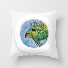 Capitan Hook Throw Pillow