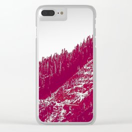 A red velvet myst fogged his eyes but they were evergreen Clear iPhone Case