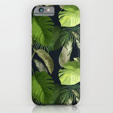 Tropical Leaf Pattern 1 iPhone 6s Slim Case