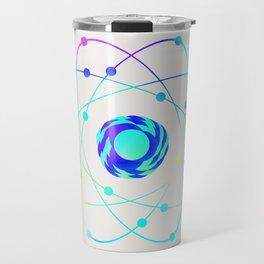Calcium - Element Art Travel Mug