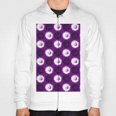Sunflower black, white and purple Hoody