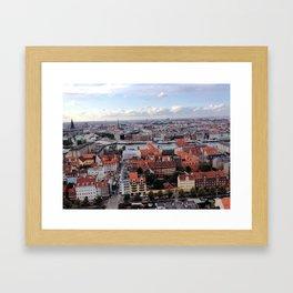 Copenhagen, Denmark - Vor Frelsers Kirke Framed Art Print