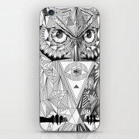 illuminati iPhone & iPod Skins featuring Illuminati by Wink
