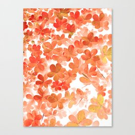 Clover X Canvas Print