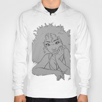 artsy Hoodies featuring Artsy Girl by radaaban