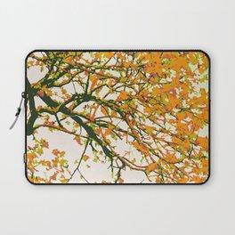 Autumn Bloom | Digital Art Laptop Sleeve