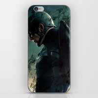 steve rogers iPhone & iPod Skins featuring Steve Rogers 006 by TheTreasure