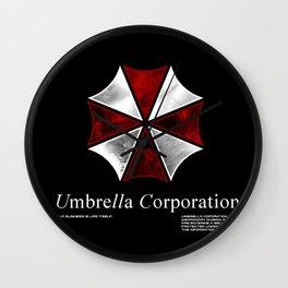 Resident Evil Umbrella Corporation Wall Clock