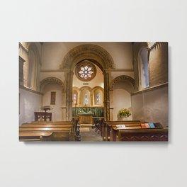 Barfreston Church Metal Print
