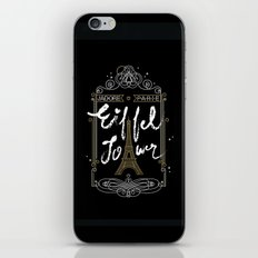 J'adore Parie iPhone Skin