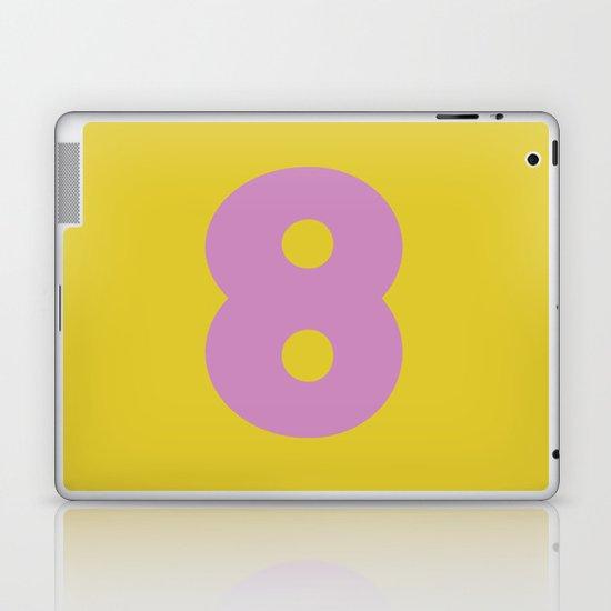 Number 8 Laptop & iPad Skin
