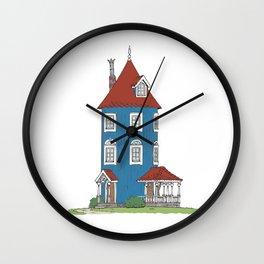 Moomin's House Wall Clock