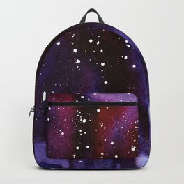 Space Neon Watercolor #13: deep space Backpack