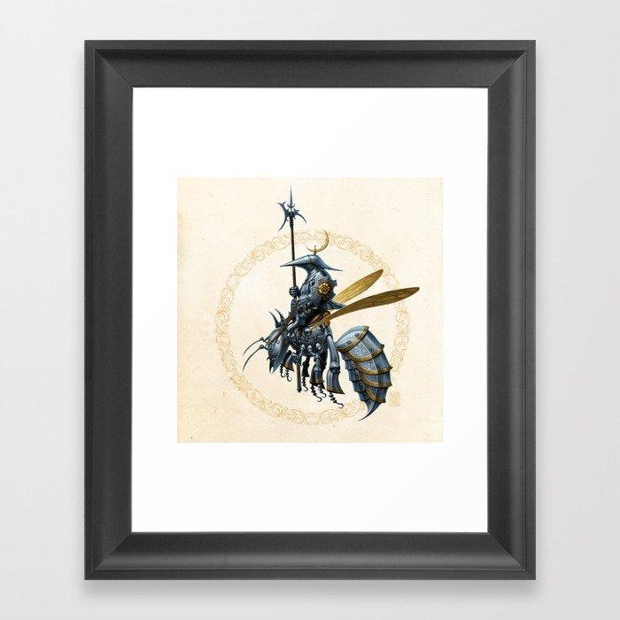 Royal Wasp Guard Gerahmter Kunstdruck