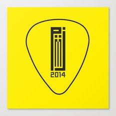 PJ 2014 GR // pick Canvas Print