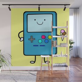 Ice cream lover video game Wall Mural
