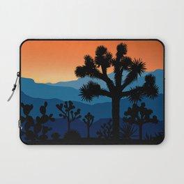 Retro Joshua Tree National Park Desert Hiking Camping Cactus Laptop Sleeve