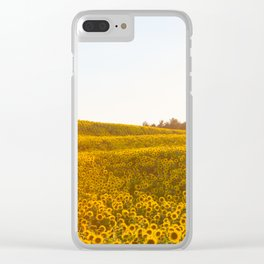 Field of Sunshine Clear iPhone Case