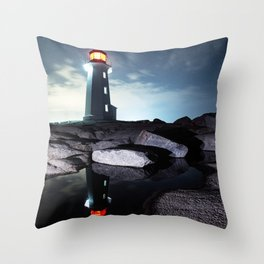 The Way Home Throw Pillow