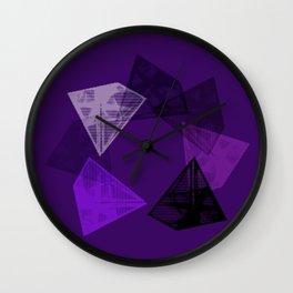 Crystal Round II Wall Clock