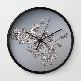 sempervivum Wall Clock