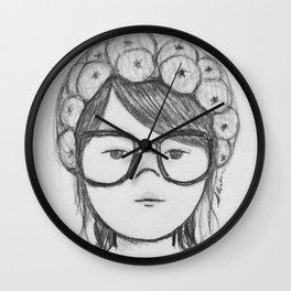 Kayla Bean Wall Clock