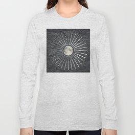 Phases // Moon Calendar 2017 Long Sleeve T-shirt