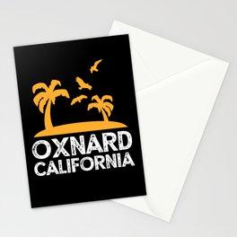 Oxnard California CA USA Palm Trees Souvenir Stationery Cards