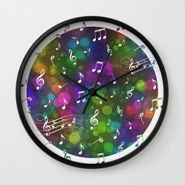Music Multi 2 Wall Clock