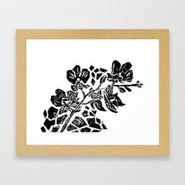 Orchidelirium Framed Art Print