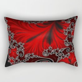 Eruption - Fractal Art Rectangular Pillow